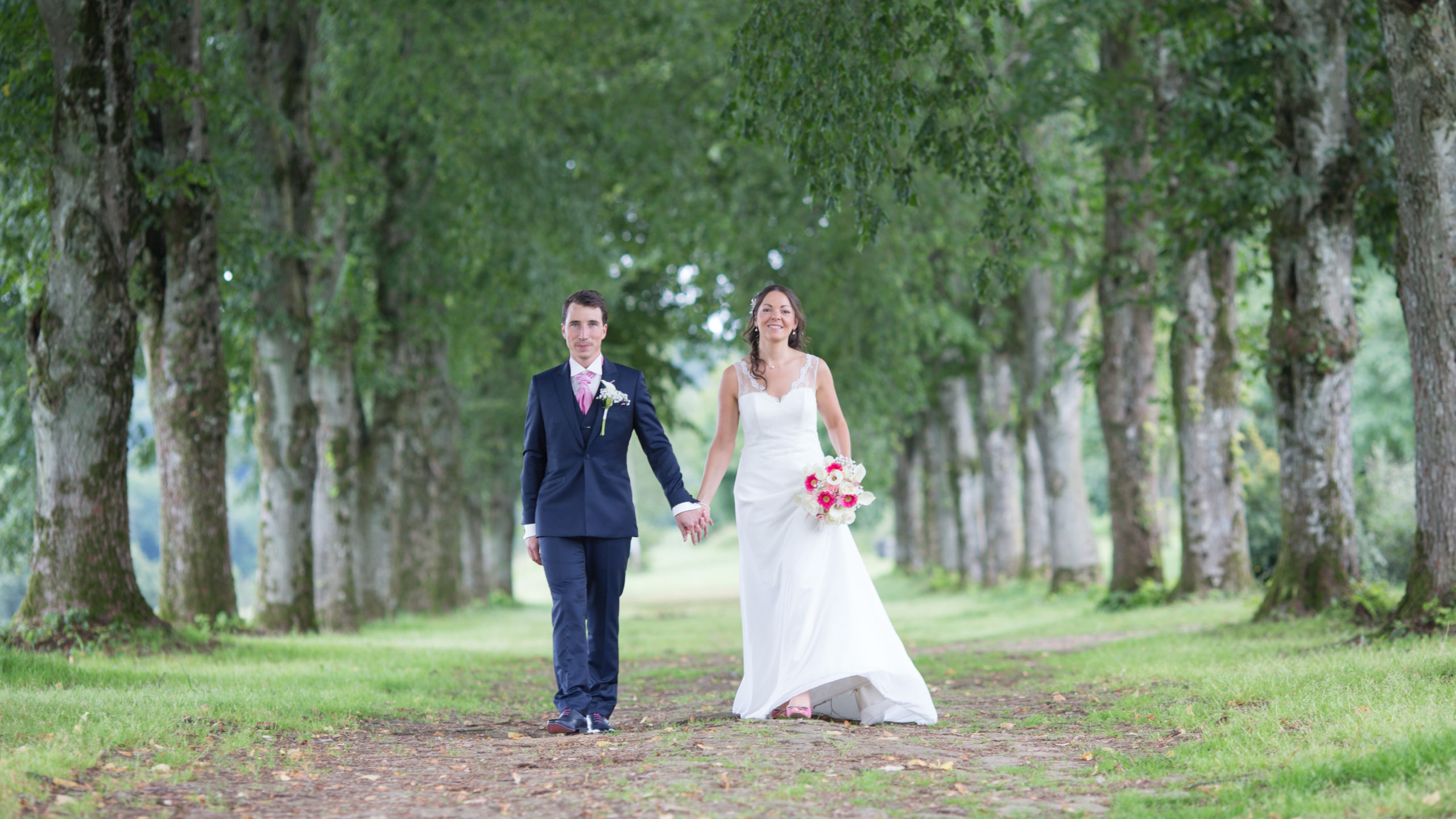 Photographe mariage Ardennes nature